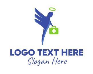 Healthcare - Doctor Angel logo design