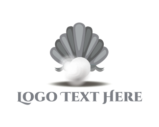 Seashell - Elegant Pearl logo design