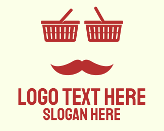 Anonymous - Shopper Man logo design