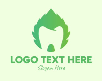 Oral Care - Green Mint Dental logo design