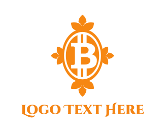 Cryptocurrency - Bitcoin Bank logo design