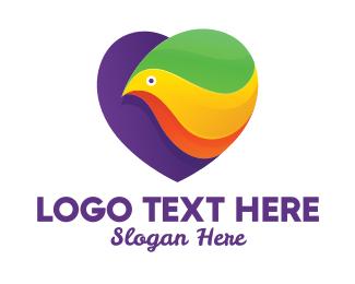 Spa - Spa Colorful Bird logo design