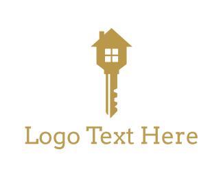 House - House Key logo design