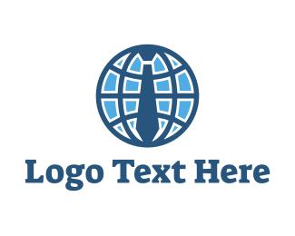 Recruiter - Work Planet logo design