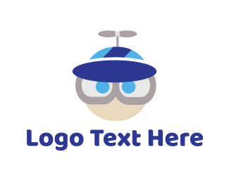 Cap - Propeller Hat logo design