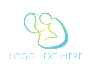 Nursery - Mint Body logo design