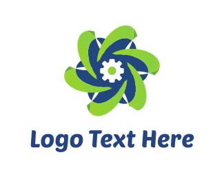 Tools - Tech Flower logo design