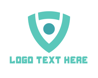 Security - Modern Shield logo design