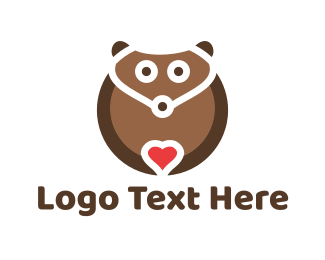 Compassion - Lovely Bear logo design