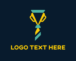 Win - Trophy Tie logo design