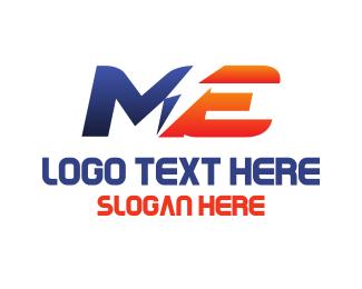 Bolt - M & E logo design