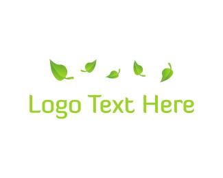 Yard - Green Foliage logo design