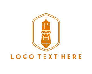 Brand - Orange Tower logo design