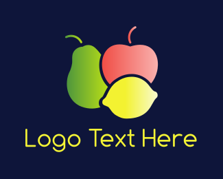 Fruit - Colorful Fruit  logo design