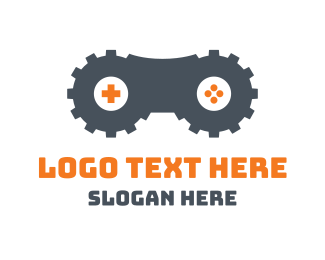 Xbox - Double Gear Gaming logo design