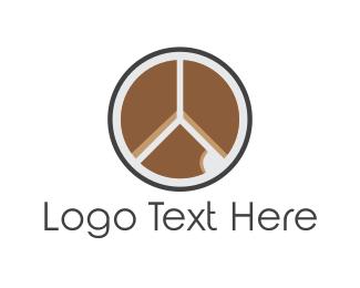 Peace - Peace Cake logo design