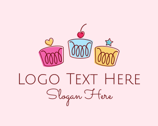 Fun - Deco Cakes logo design