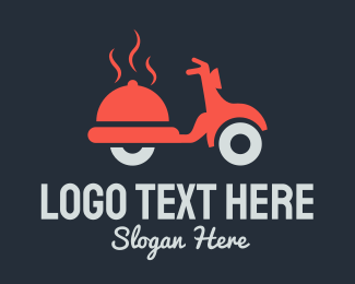 Scooter - Food Delivery logo design