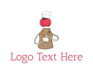 Chef - Chef Tomato logo design