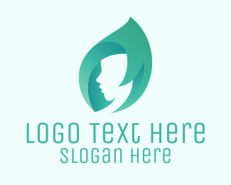 Nail Salon - Mint Hair logo design