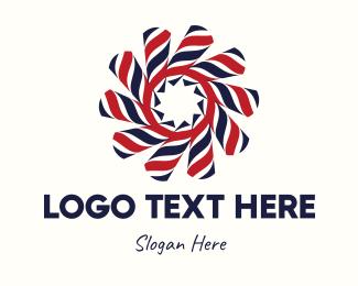 Barber Shop - Barber Swirl logo design