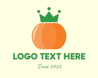 Vegetable - Royal Pumpking logo design