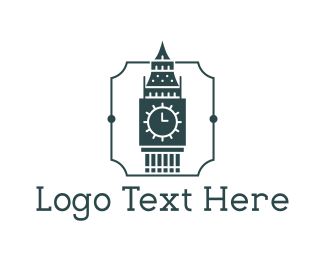 Uk -  Big Ben logo design