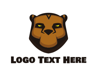 Esport - Tribal Bear logo design