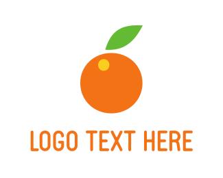 Orange Fruit Logo