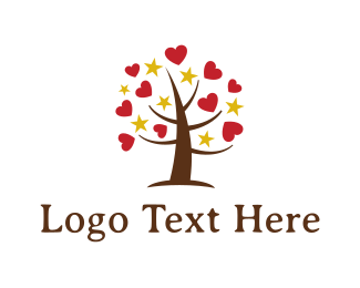 Heart - Loving Tree logo design