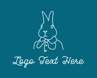 Fairy Tale - Fashion Bunny logo design