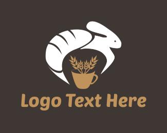 Bread - Bread & Rabbit logo design