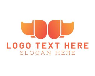 Dog - Orange Dogs logo design