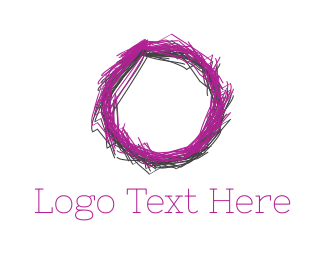 Draw - Sketch Circle logo design