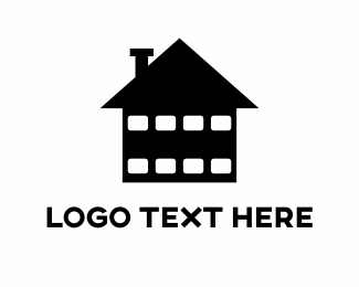 Theater - Home Cinema logo design