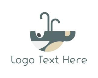 Whale - Whale Cup logo design