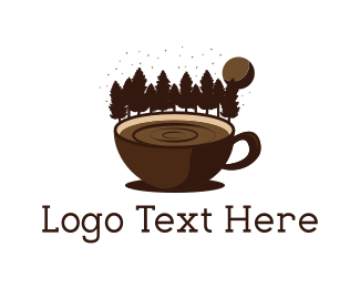 Mug - Forest Coffee logo design