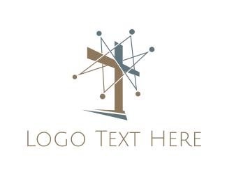Christ - Chistian Network logo design