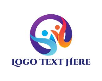 Foundation - Human Circle logo design