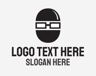 Anonymous - Geek Robber logo design
