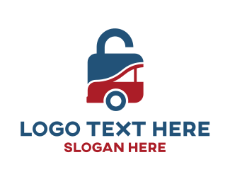 Lock - Padlock Safe Car logo design