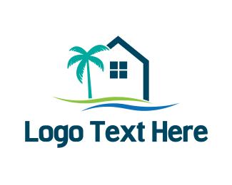 Tropical - Tropical Housing logo design