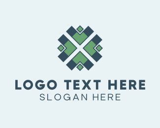 Tribal - Arrow Pattern logo design