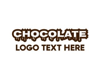 Confectionery - Melting Chocolate logo design