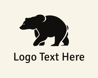 Vintage - Strong Bear logo design