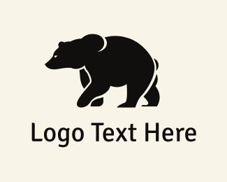 Bear - Strong Bear logo design