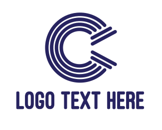 Consultancy - Blue Pattern C logo design
