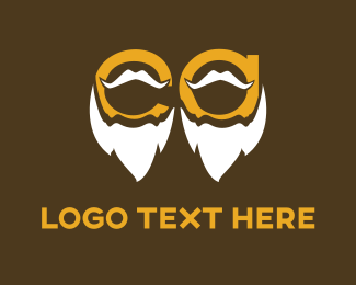 Grandfather - White Beards logo design
