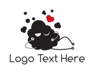Porn - Sexy Cloud logo design