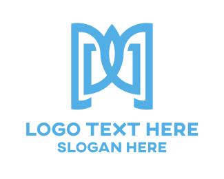 Notebook - Eagle & Book logo design